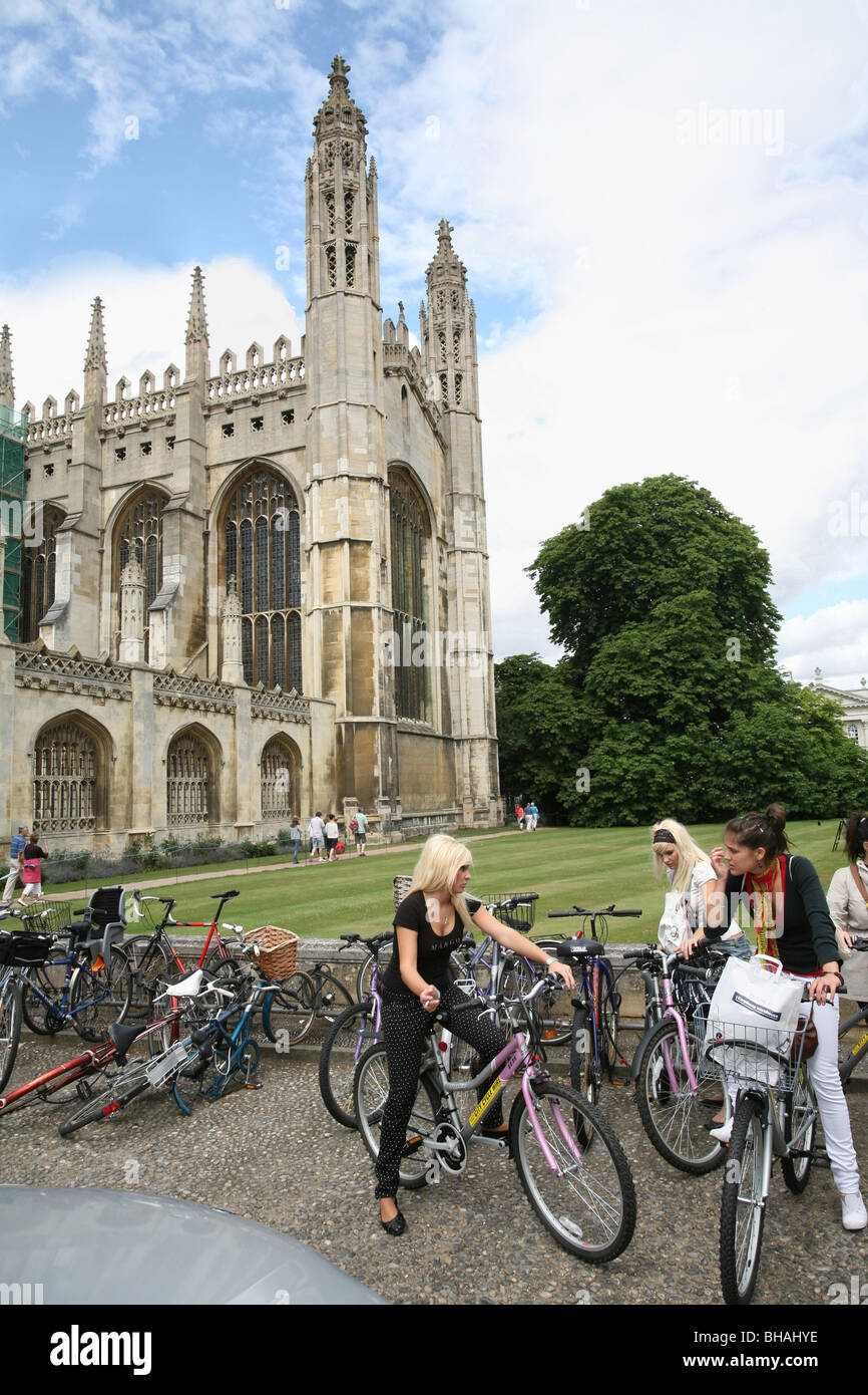 King's College, Cambridge University - Stock Image