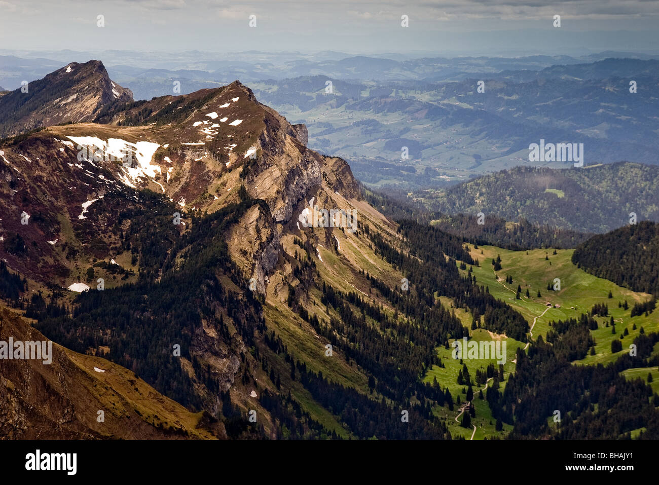 Mount Pilatus Switzerland Stock Photo