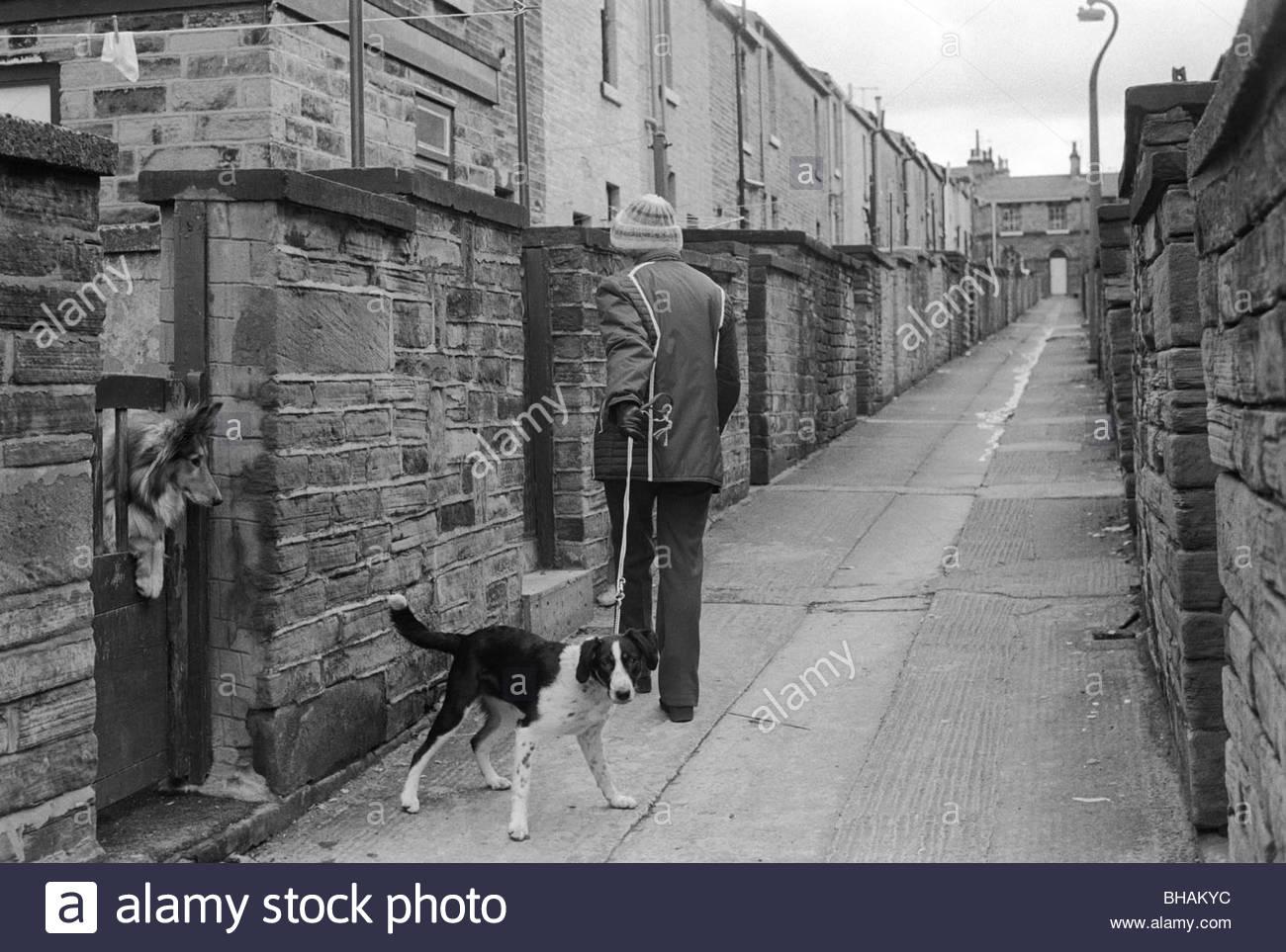 Saltaire near Bradford West Yorkshire England 1981. HOMER SYKES - Stock Image