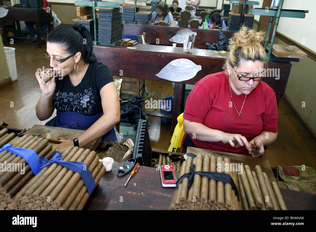 El Credito Cigar Factory, Little Havana, Miami, Florida, USA
