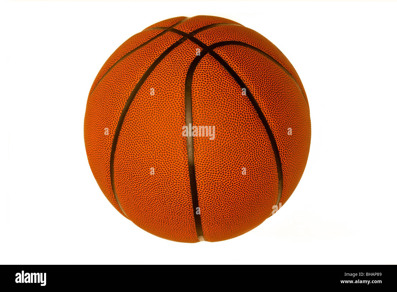 Basketball cut out - Stock Image