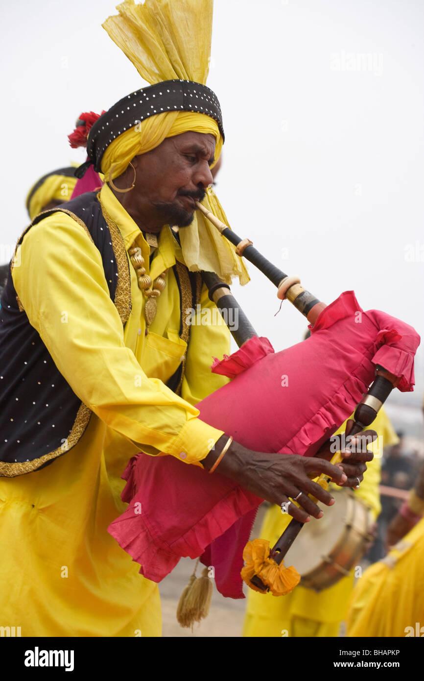Maghi Mela India Punjab Tradition Festival music Stock Photo