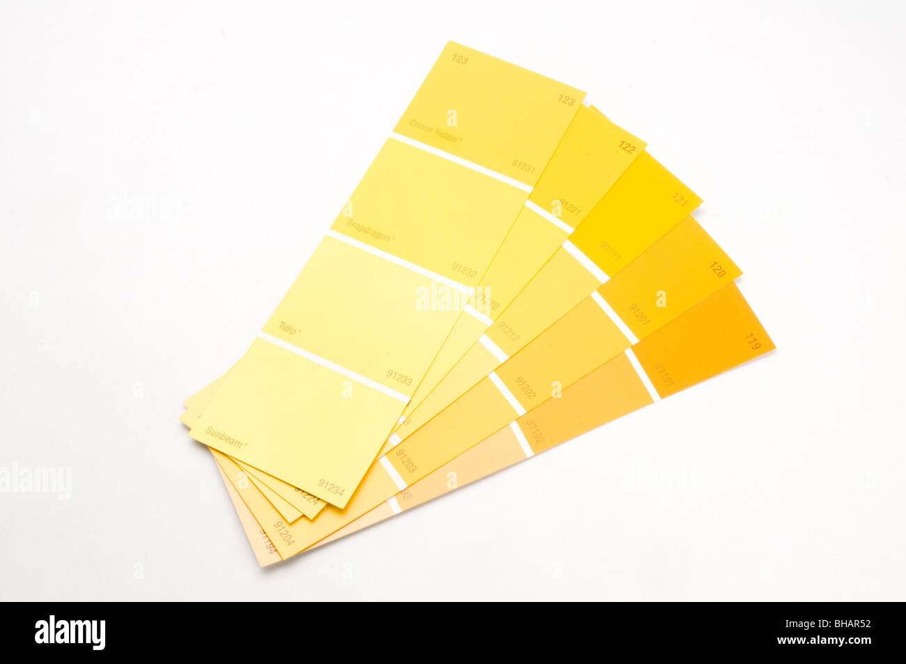 Paint Chips High Resolution Stock Photography and Images - Alamy