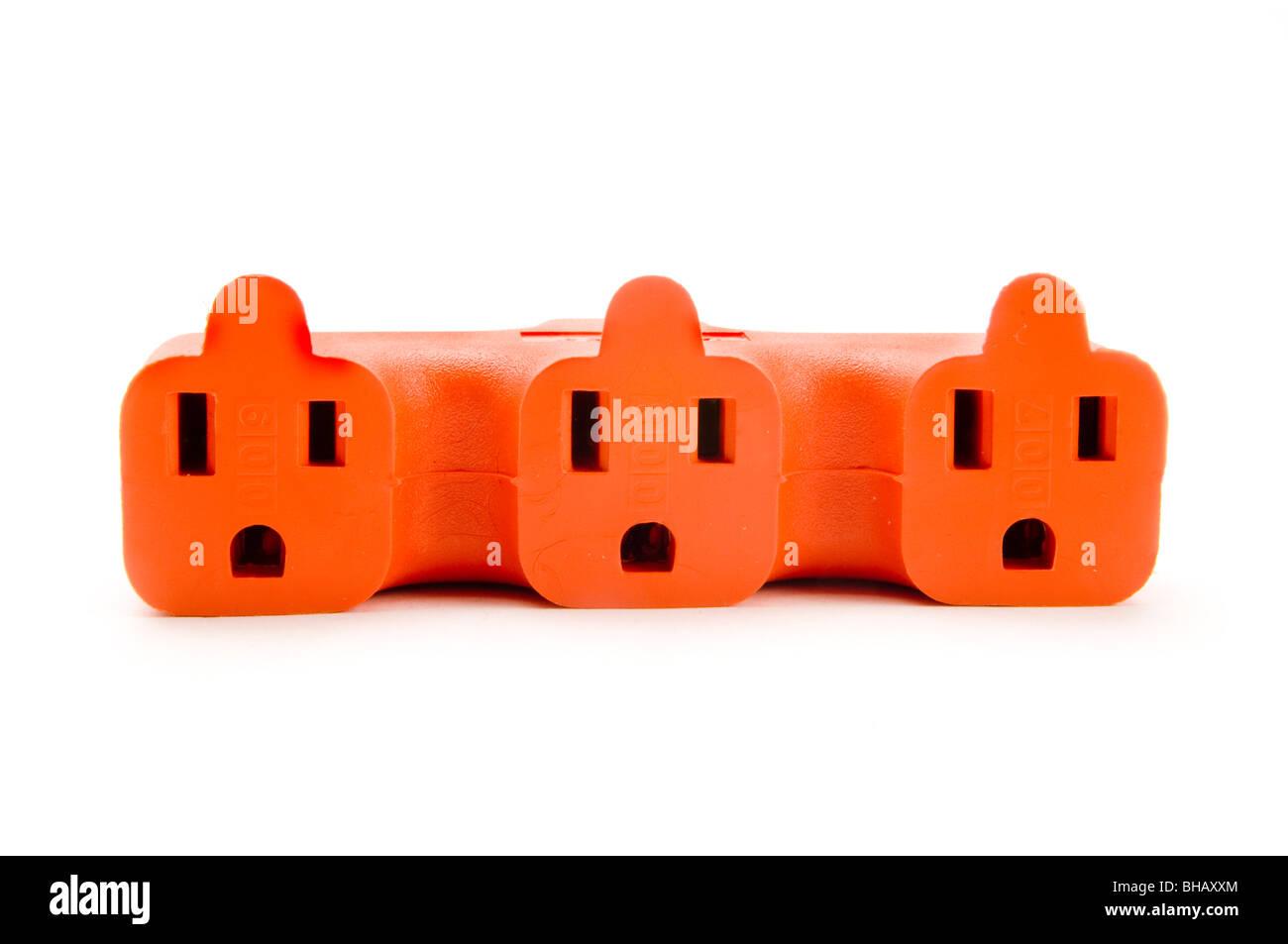 adapter plug - Stock Image