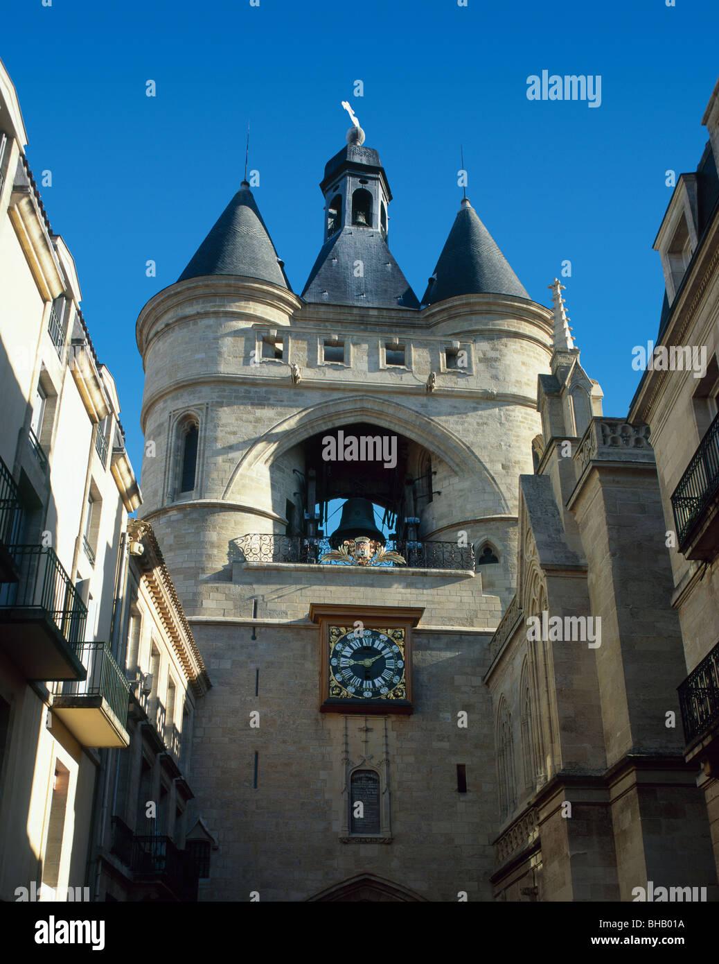 Grosse Cloche, Bordeaux, Gironde, France Stock Photo ...