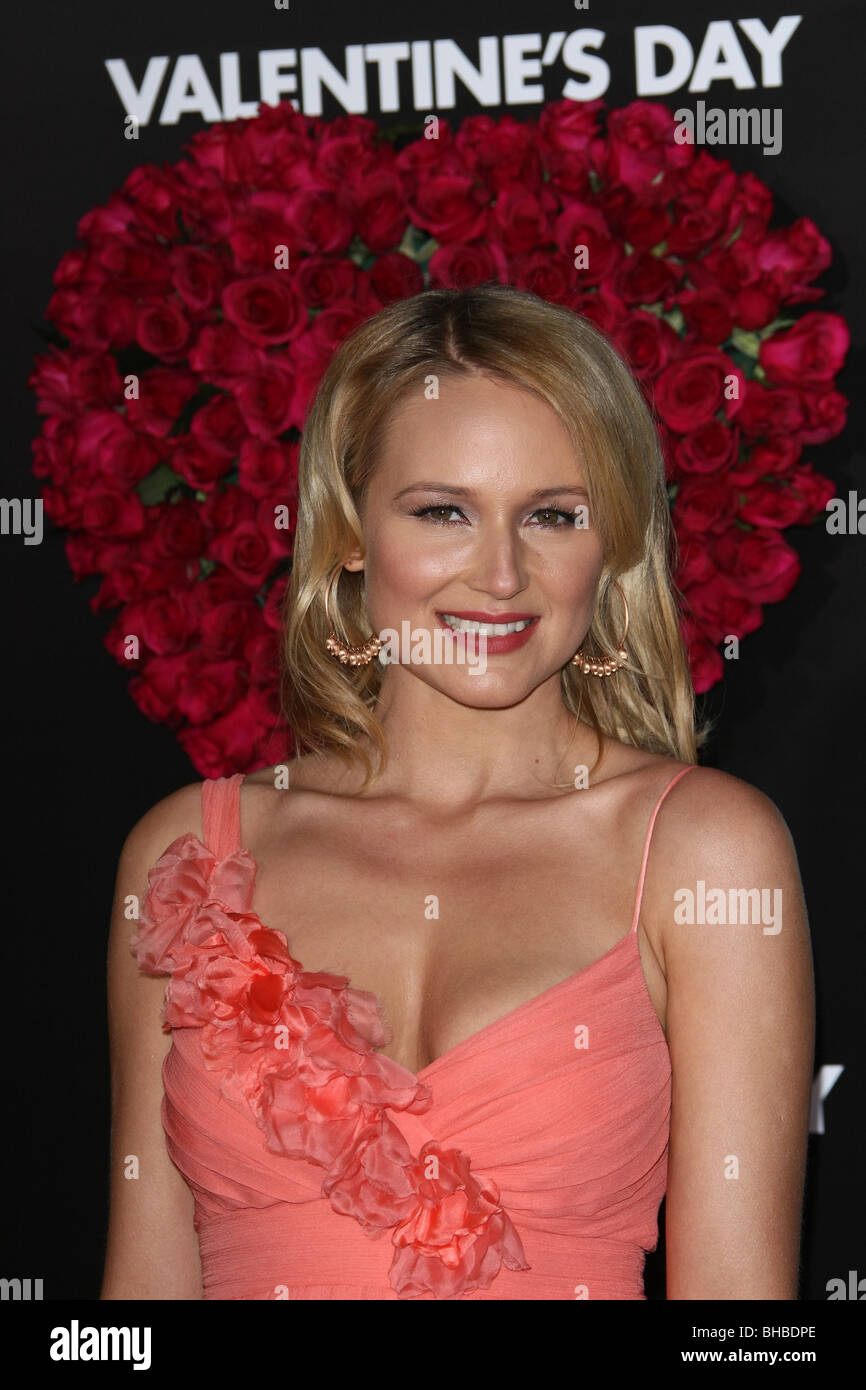 JEWEL VALENTINES DAY WORLD PREMIERE HOLLYWOOD LOS ANGELES CA USA 08 February 2010 - Stock Image