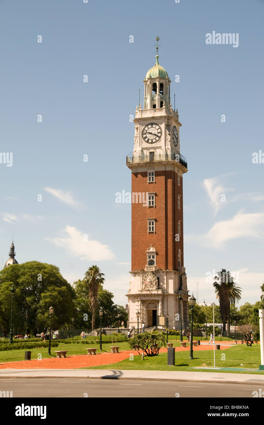 Buenos Aires Argentina English Tower Plaza San Martin - Stock Image