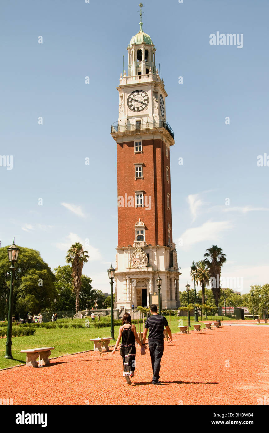 Buenos Aires Argentina English Tower Plaza San Martin Stock Photo