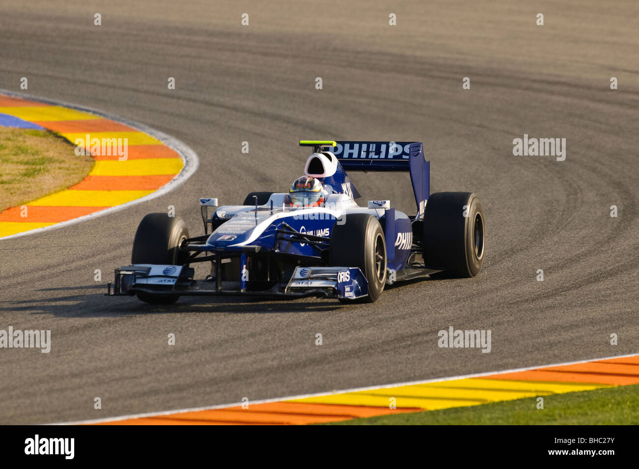 Nico HUELKENBERG (GER) driving the Williams FW31 Formula One racing car in February 2010 - Stock Image