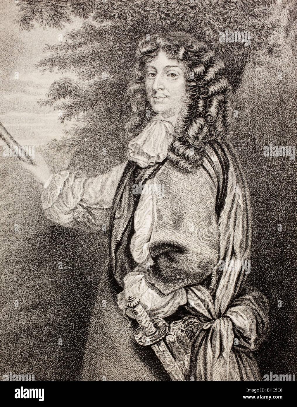 David Leslie, Lord Newark c. 1600-1682. General in English Civil War and Scottish Civil Wars. - Stock Image