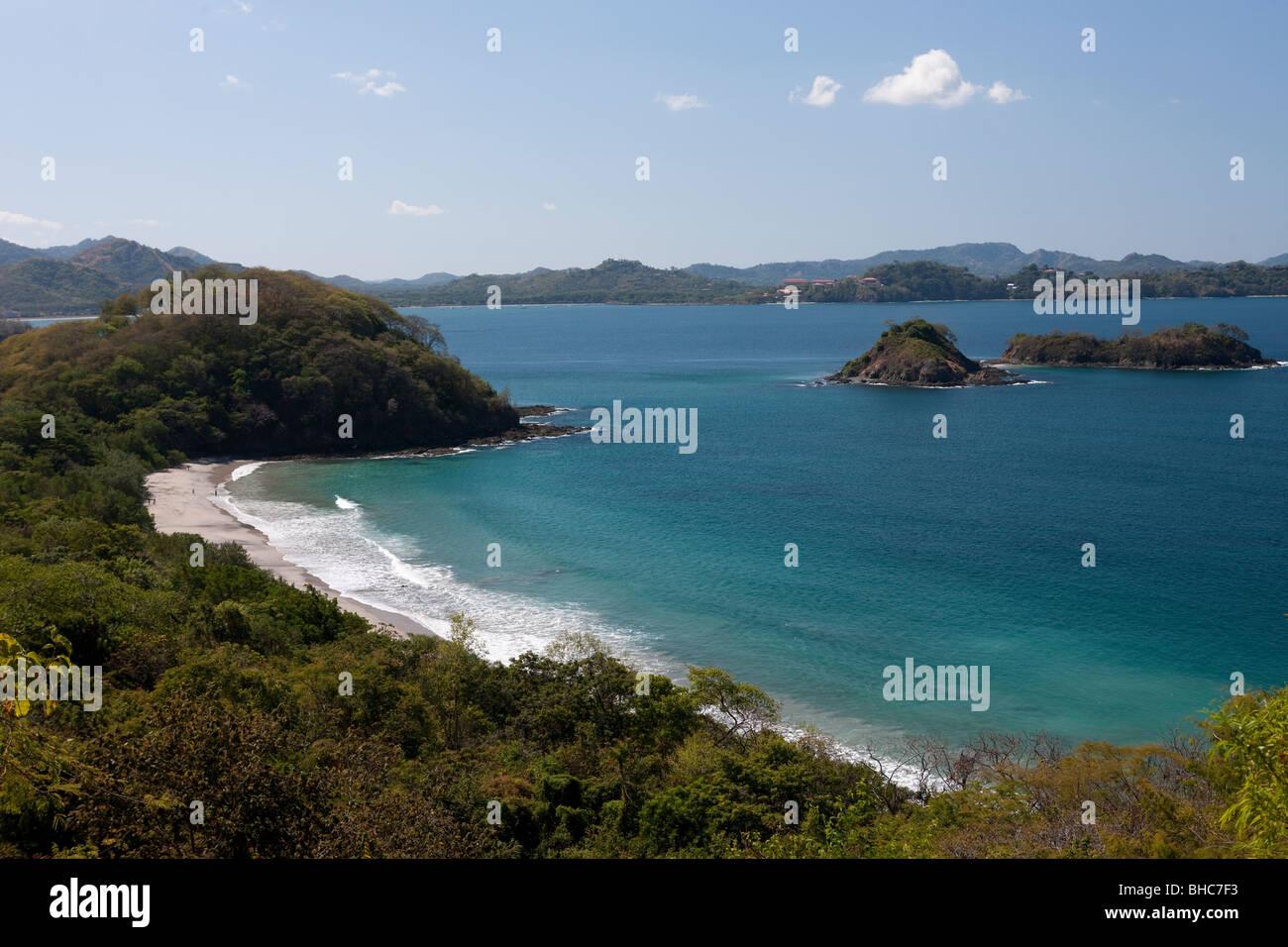 View over Pan de Azucar, Costa Rica - Stock Image