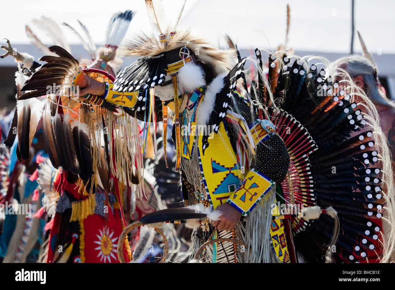 Indian ceremony - Stock Image