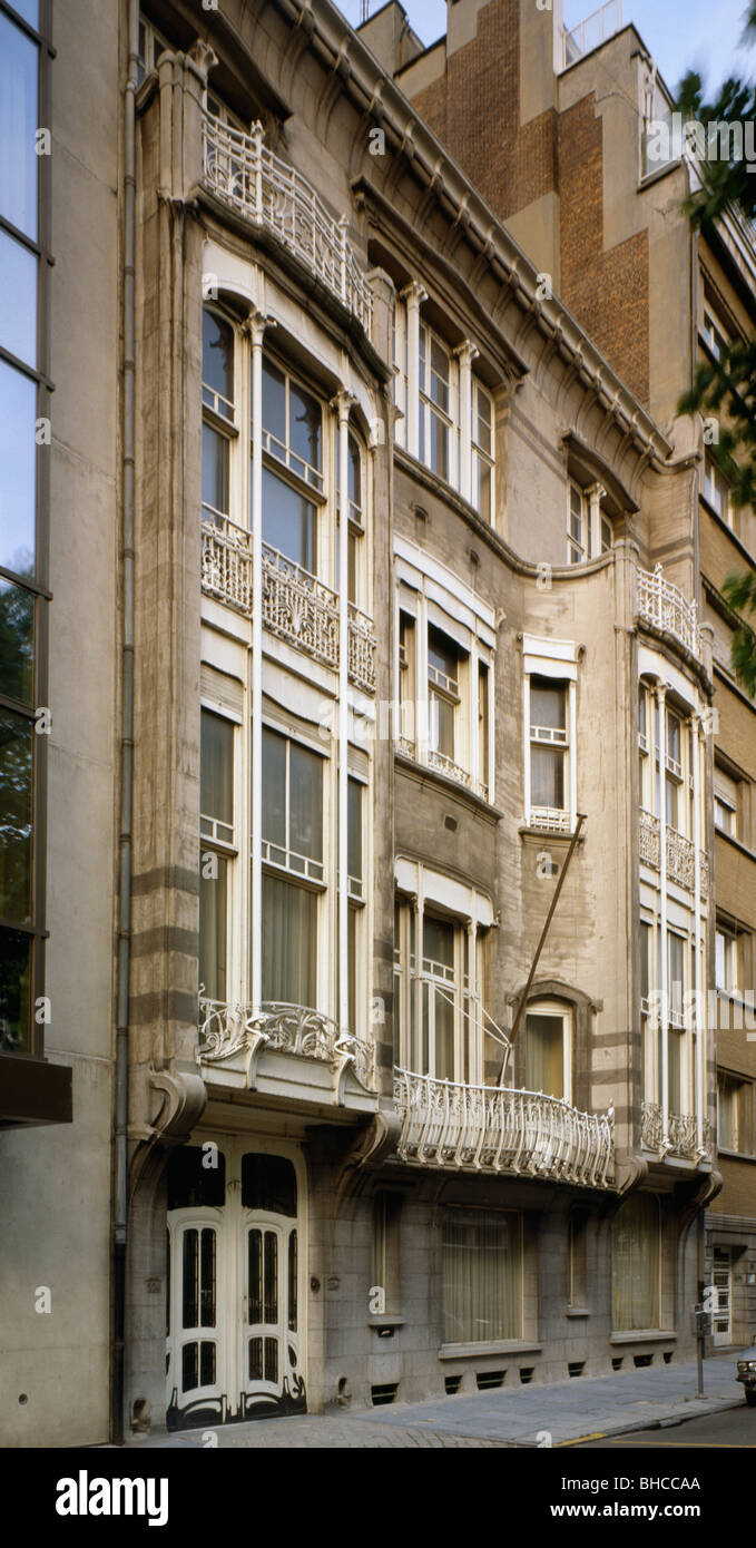 Hotel Solvay by victor Horta Brussels