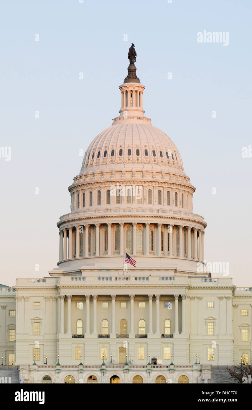 U.S. United States Capitol Building, Washington DC Stock Photo