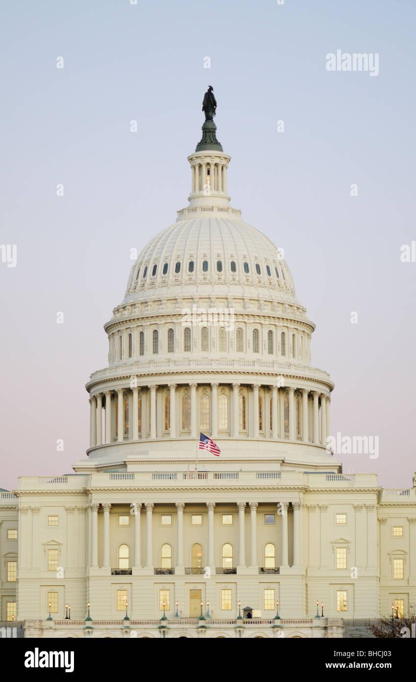 U.S. United States Capitol Building, Washington DC - Stock Image