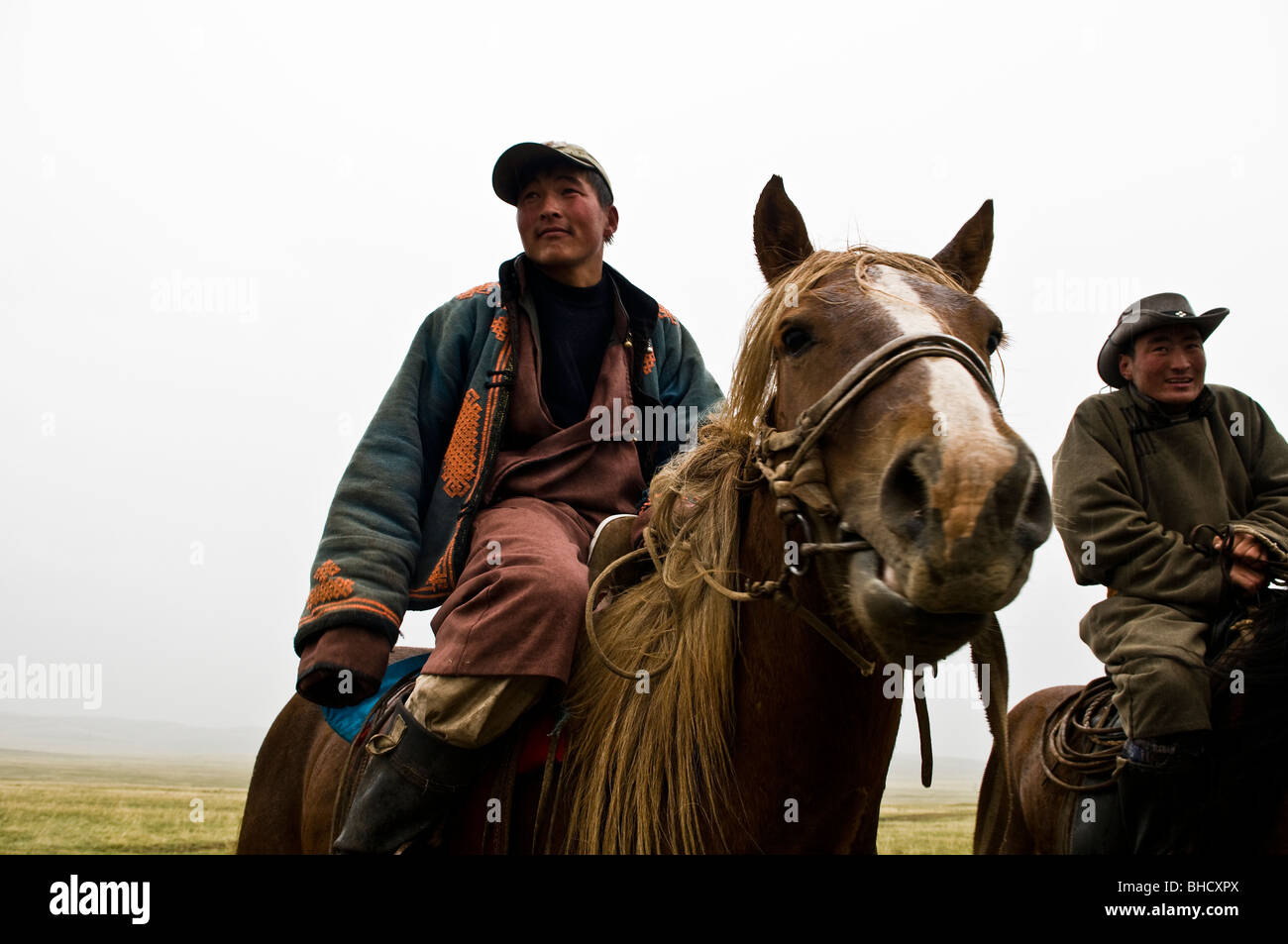 mongol-nomads-on-their-horses-in-the-vas