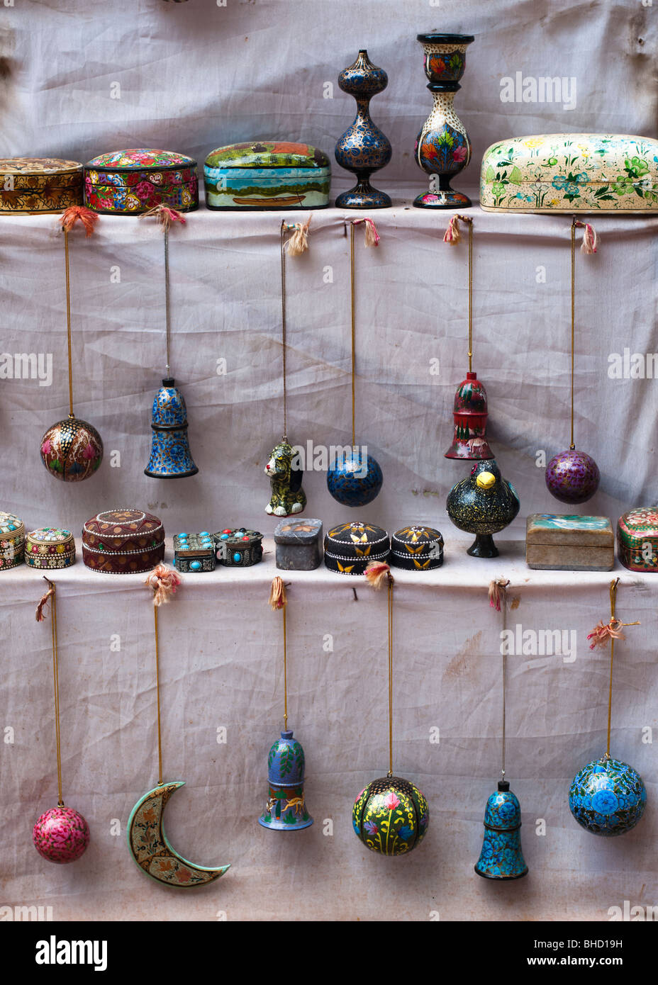 Colourful Trinkets - Stock Image