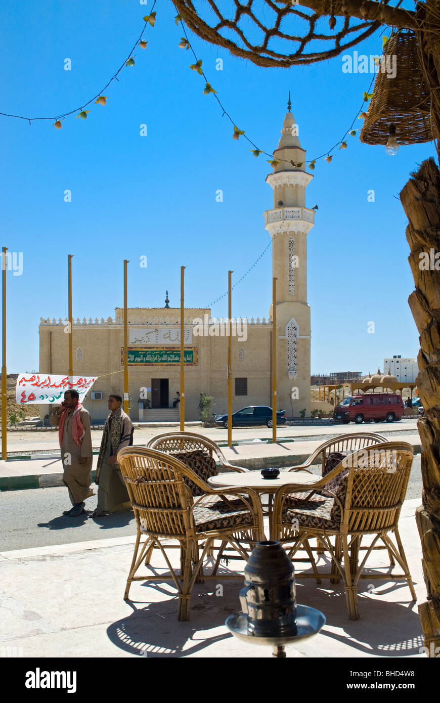 Mosque at Marsa Alam, Red Sea, Egypt - Stock Image