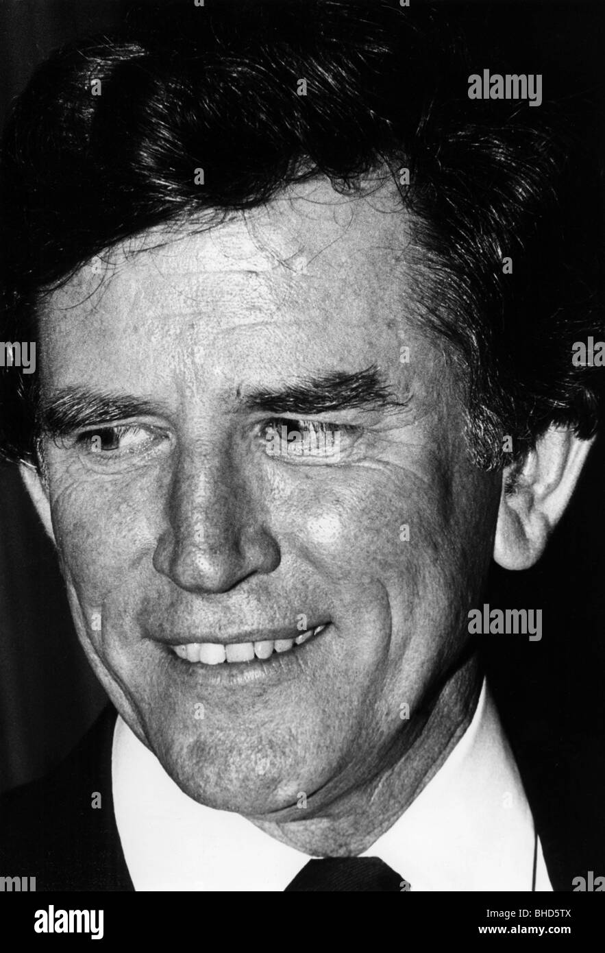 Hart, Gary (Colorado), US politician (Democrats), former presidential candidate (against Walter Mondale), portrait, - Stock Image