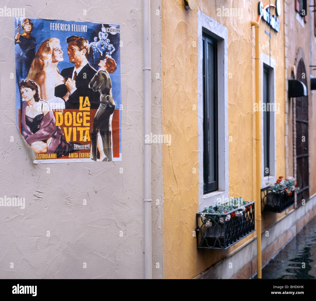 d6375084e7d La Dolce Vita movie Poster Villaggio Italia, Italian themed shopping,  restaurant complex in Nagoya
