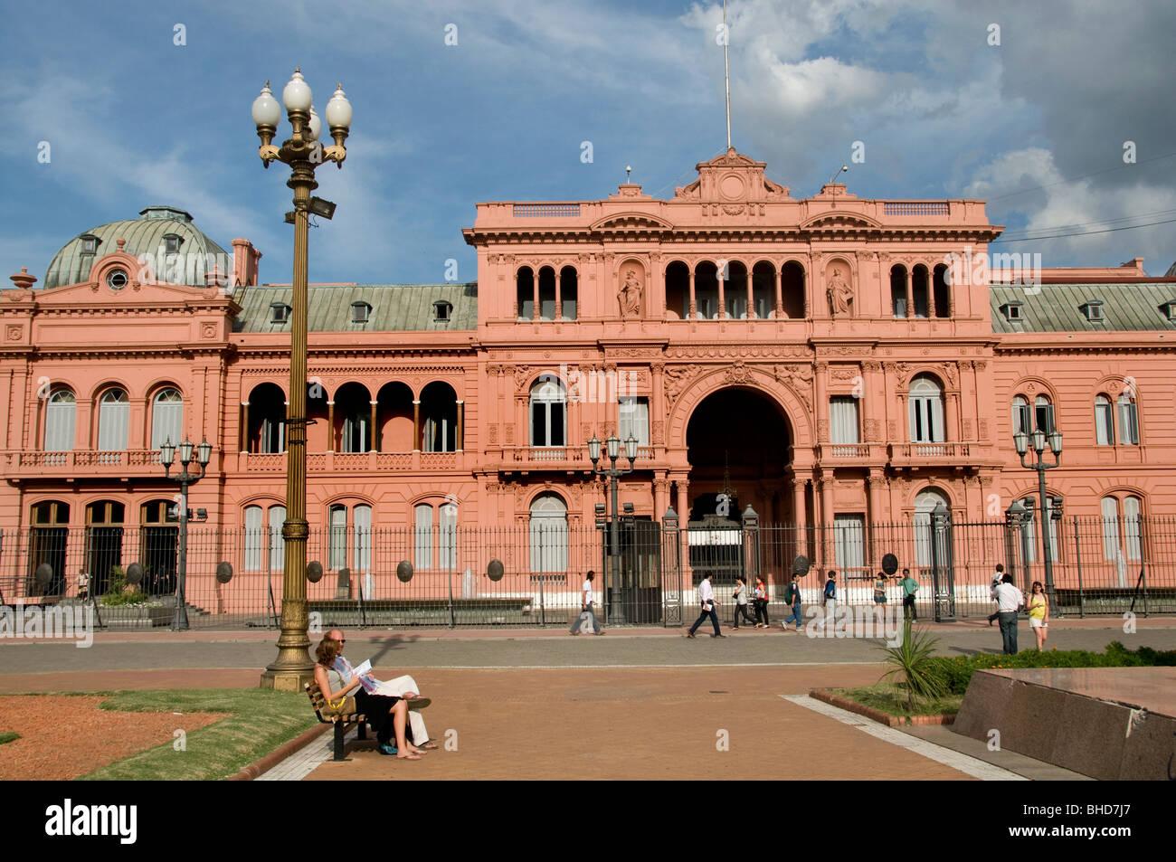 Casa Rosada Buenos Aires Plaza de Mayo Argentina Balcony ...