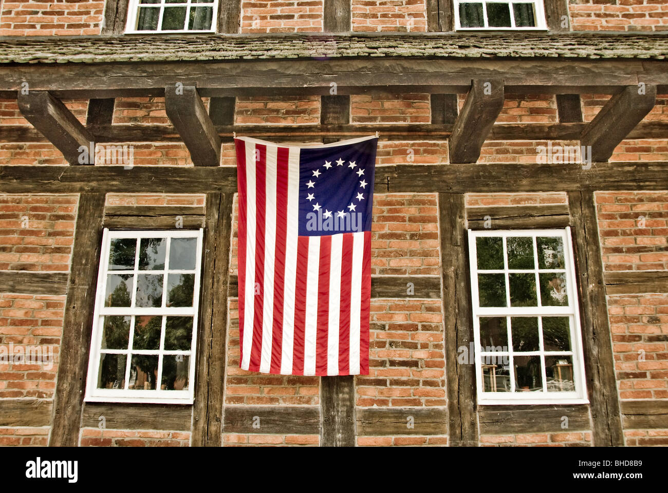Betsy Ross Flag Stock Photos and Images