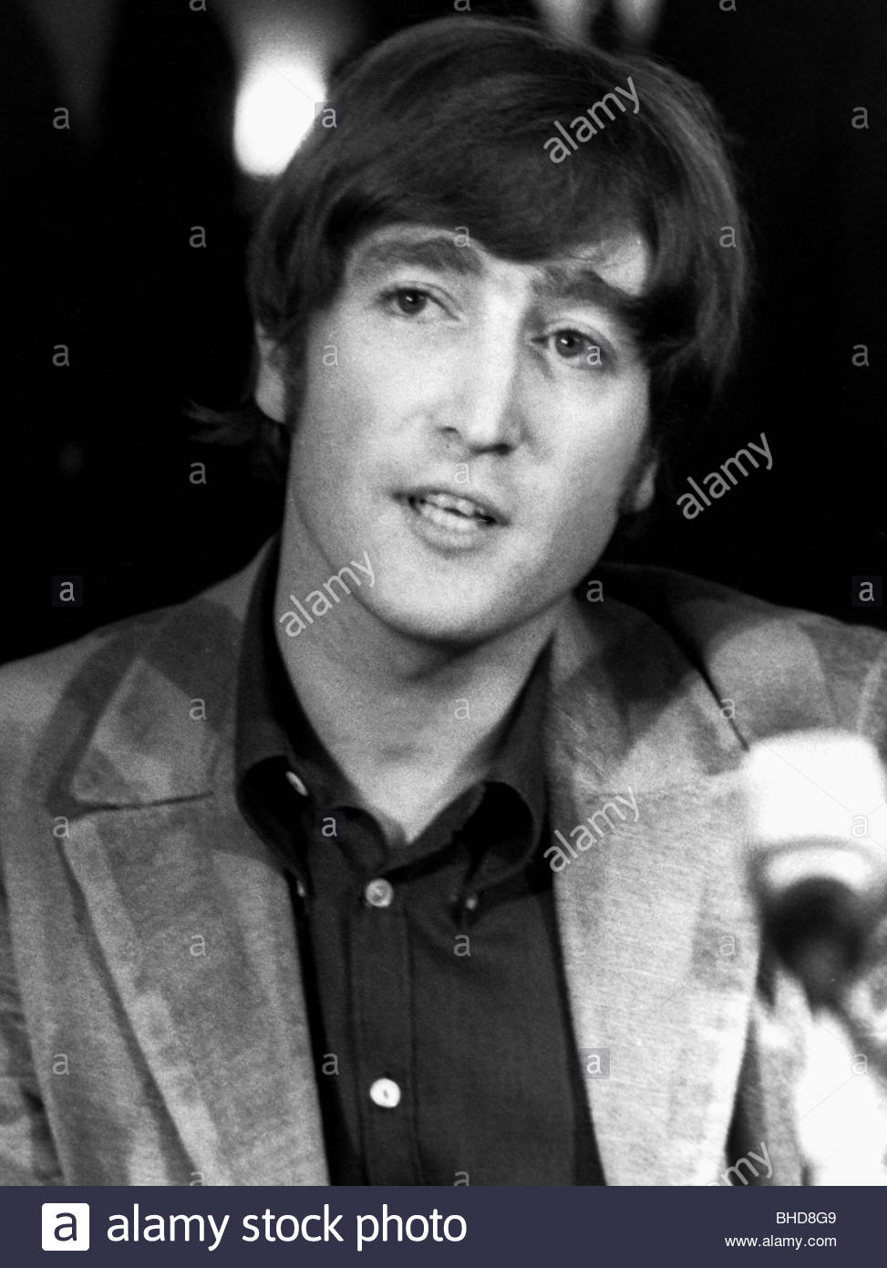 John Lennon Portrait Stock Photos