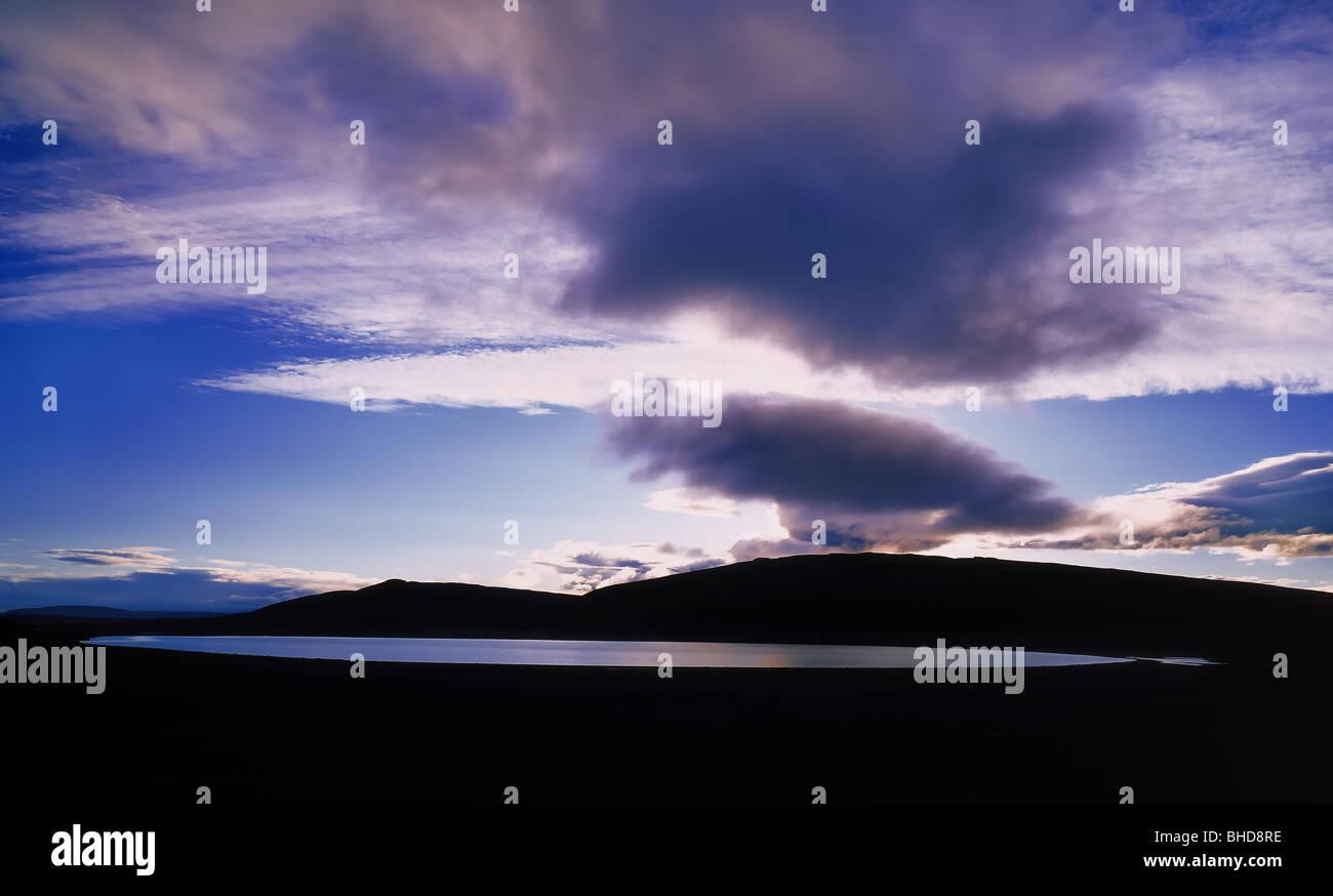 North Eastern Landscape, Iceland - Stock Image