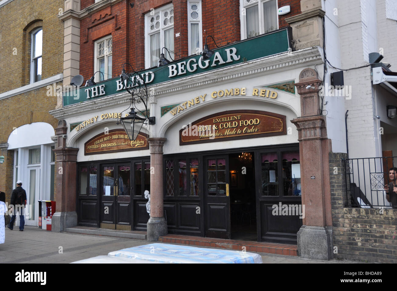 The Blind Beggar - A pub in East London-Guinness - Stock Image