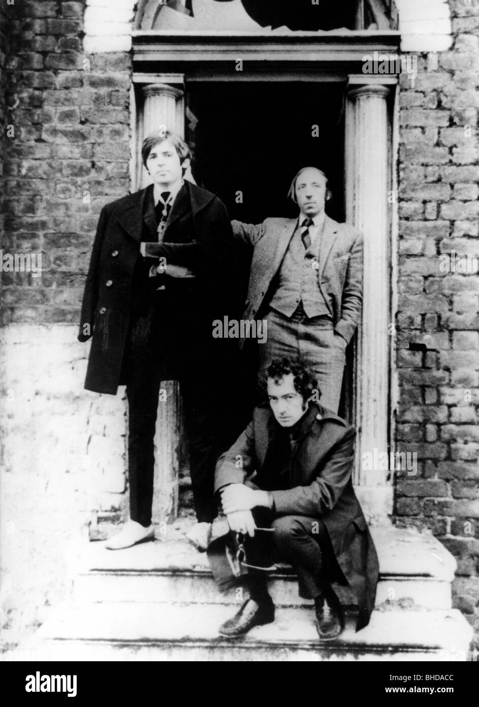 The Scaffold, 1964 - 1977, British pop group, Mike McGear (Peter Michael McCartney), John Gorman and Roger McCough, - Stock Image