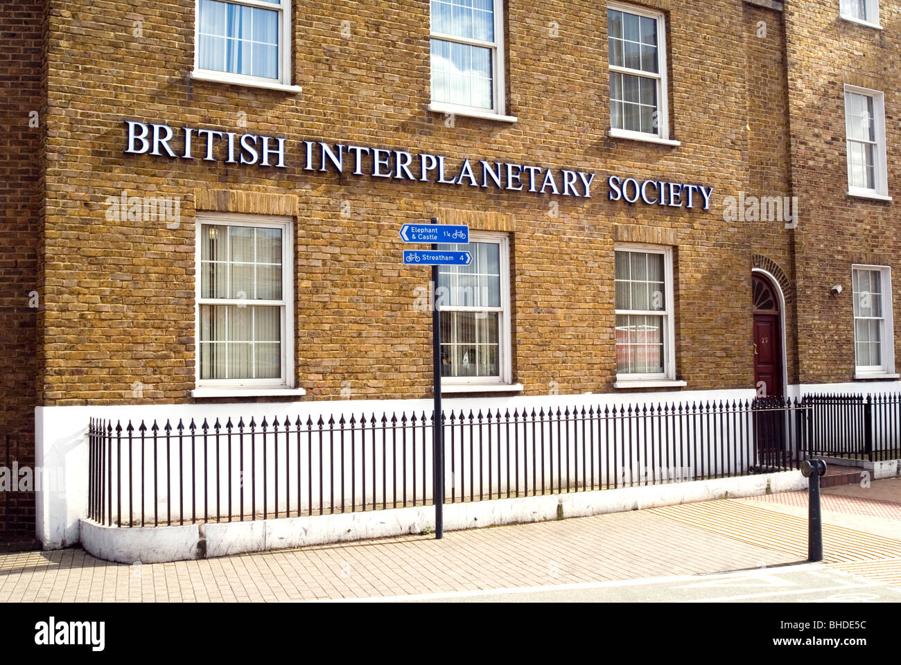 British Interplanetary Society - Stock Image