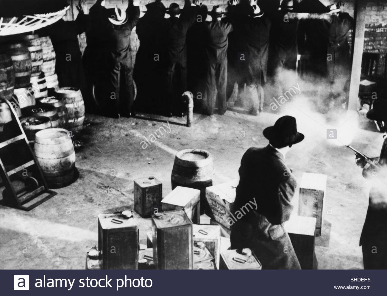 the murders of al capone Al capone himself called the shots purchasing bootleg liquor from a network of suppliers, capone stashed the contraband in the tunnels beneath main street before shipping it to the states via the canadian national railroad and the grand trunk line.
