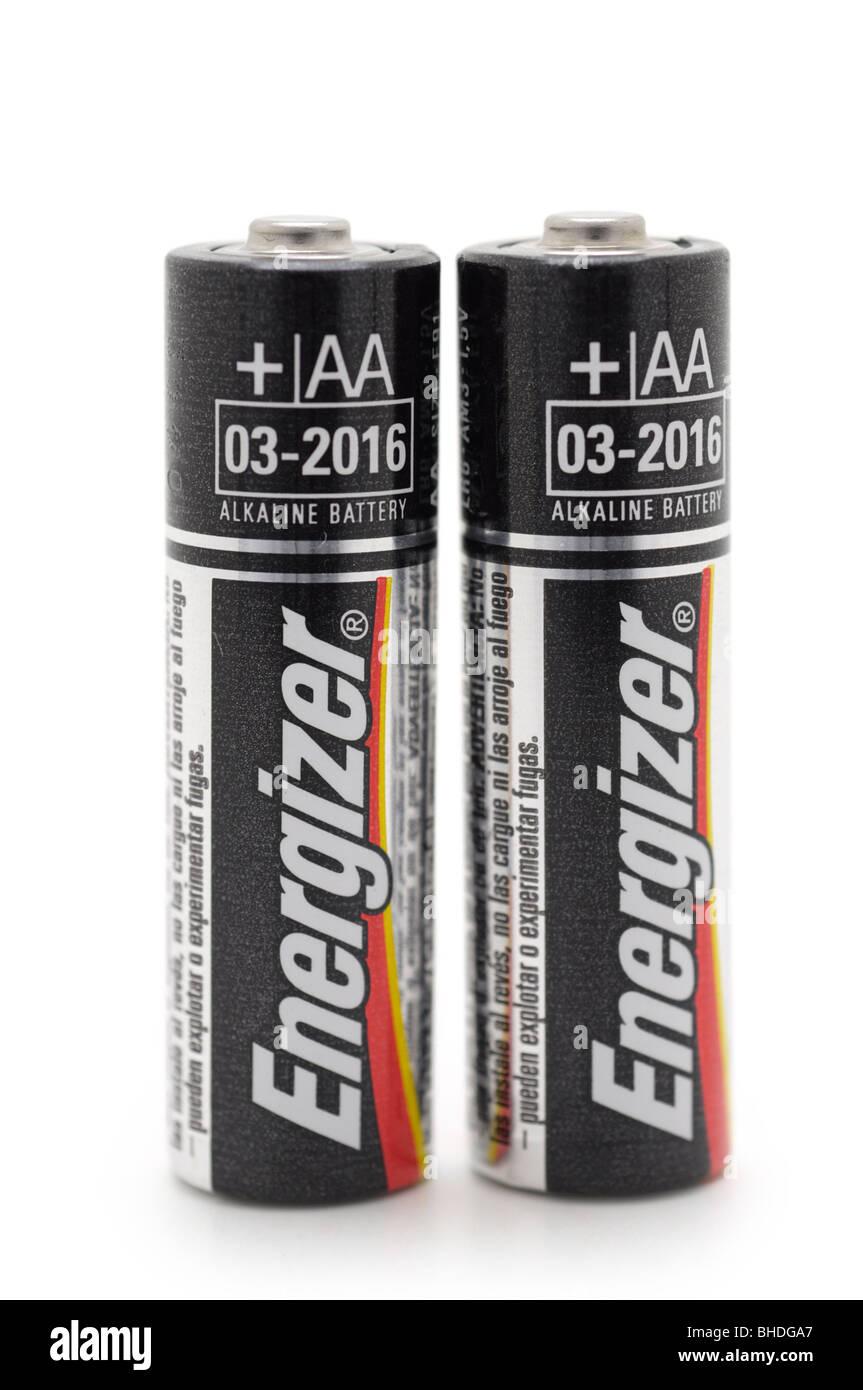 AA Alkaline Batteries - Stock Image
