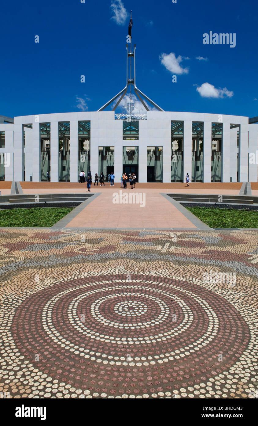 Australian Parliament House Design: Canberra Parliament House Stock Photos & Canberra