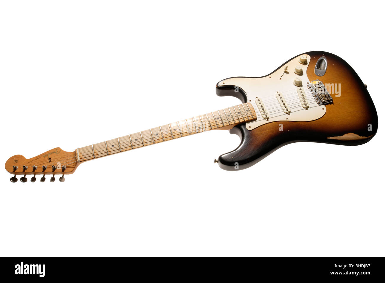 Electric Guitar Parts Stock Photos Need To Know The Of Fender Stratocaster Worn In Image