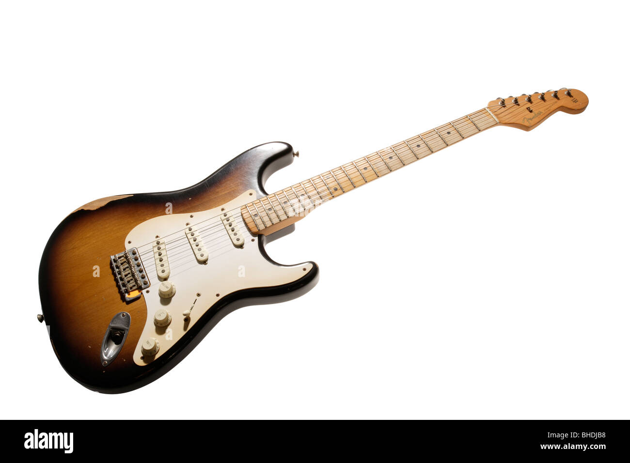 Fender Stratocaster electric guitar - Stock Image