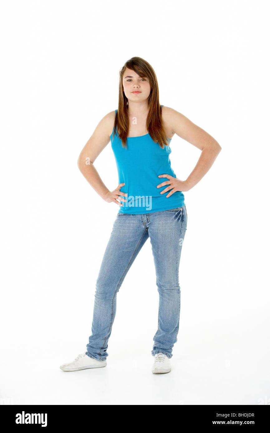 Defiant Teenager Stock Photos & Defiant Teenager Stock