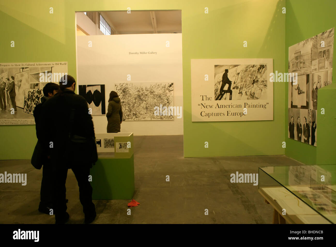 Museum of American Art at the Istanbul Biennial 2009, Turkey - Stock Image
