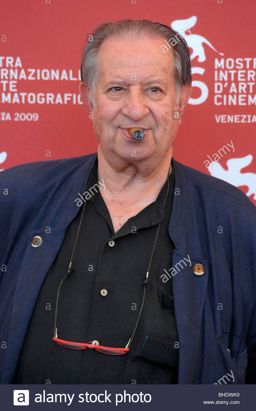 tinto brass, 66th venice film festival - Stock Image