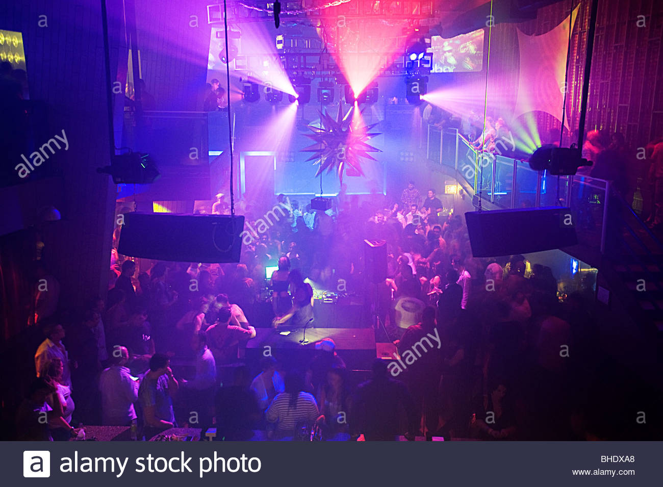 Crobar is one of the major Dance floors in town. Chicago, Illinois, usa - Stock Image
