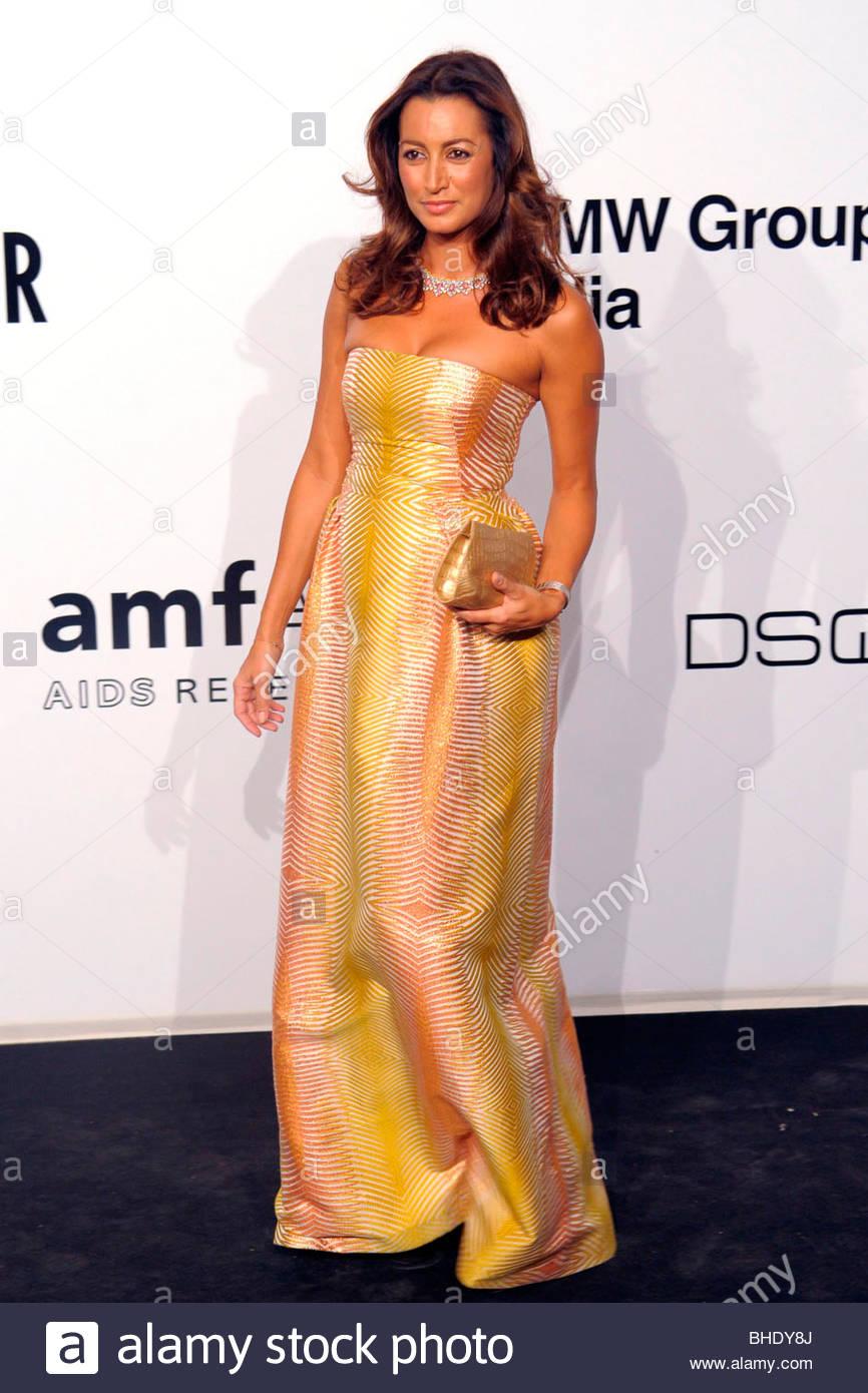 maria buccellati, milan 2009, amfar gala evening - Stock Image