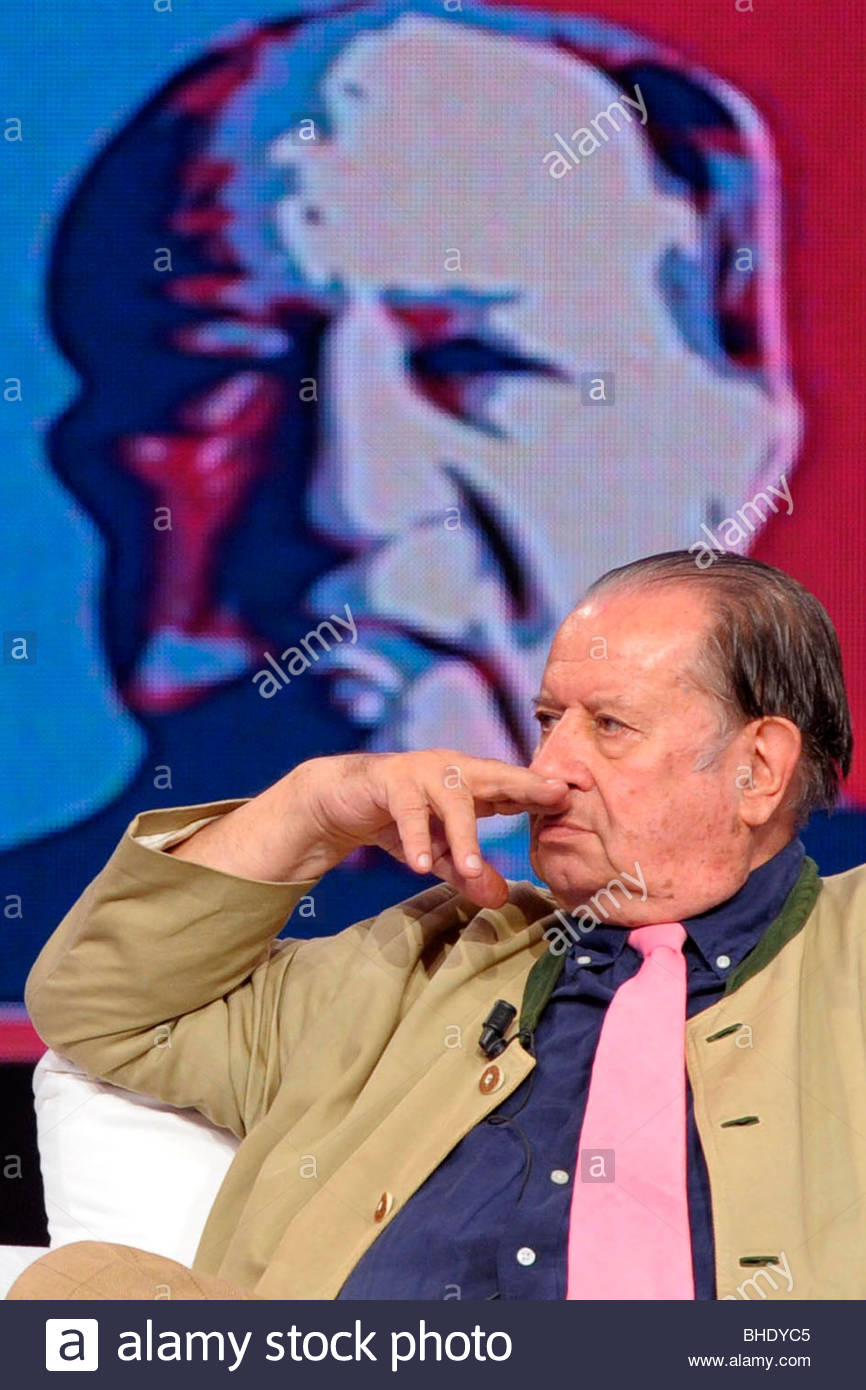 tinto brass, milan 2009, chiambretti night tv prgramme - Stock Image