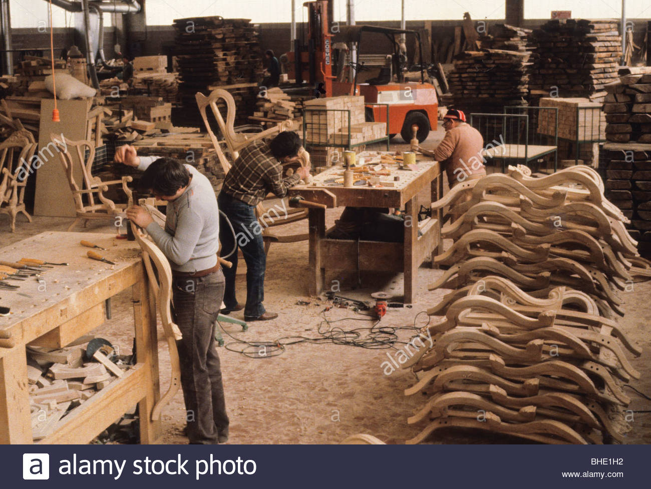 Furniture Factory Brianza Lomc Stock Photo 27968110 Alamy