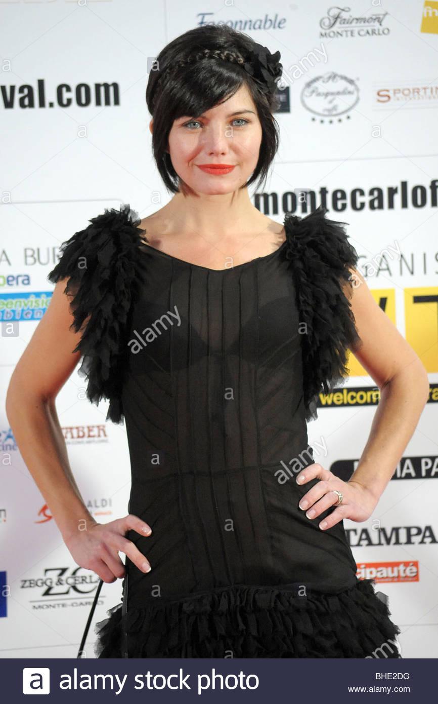 delphine chaneac, montecarlo film festival de la comedie' - Stock Image
