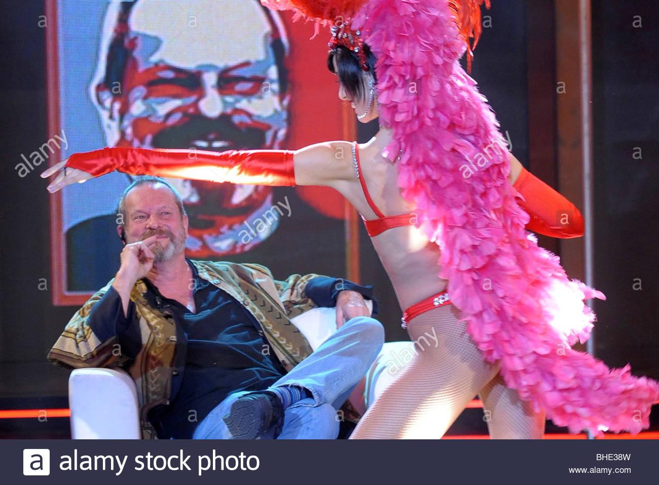 terry gilliam, chiambretti night tv show - Stock Image