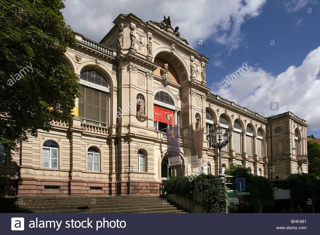 Spas friedrichbad, 1877, Baden-Baden, Baden-Württemberg, Germany, Europe - Stock Image