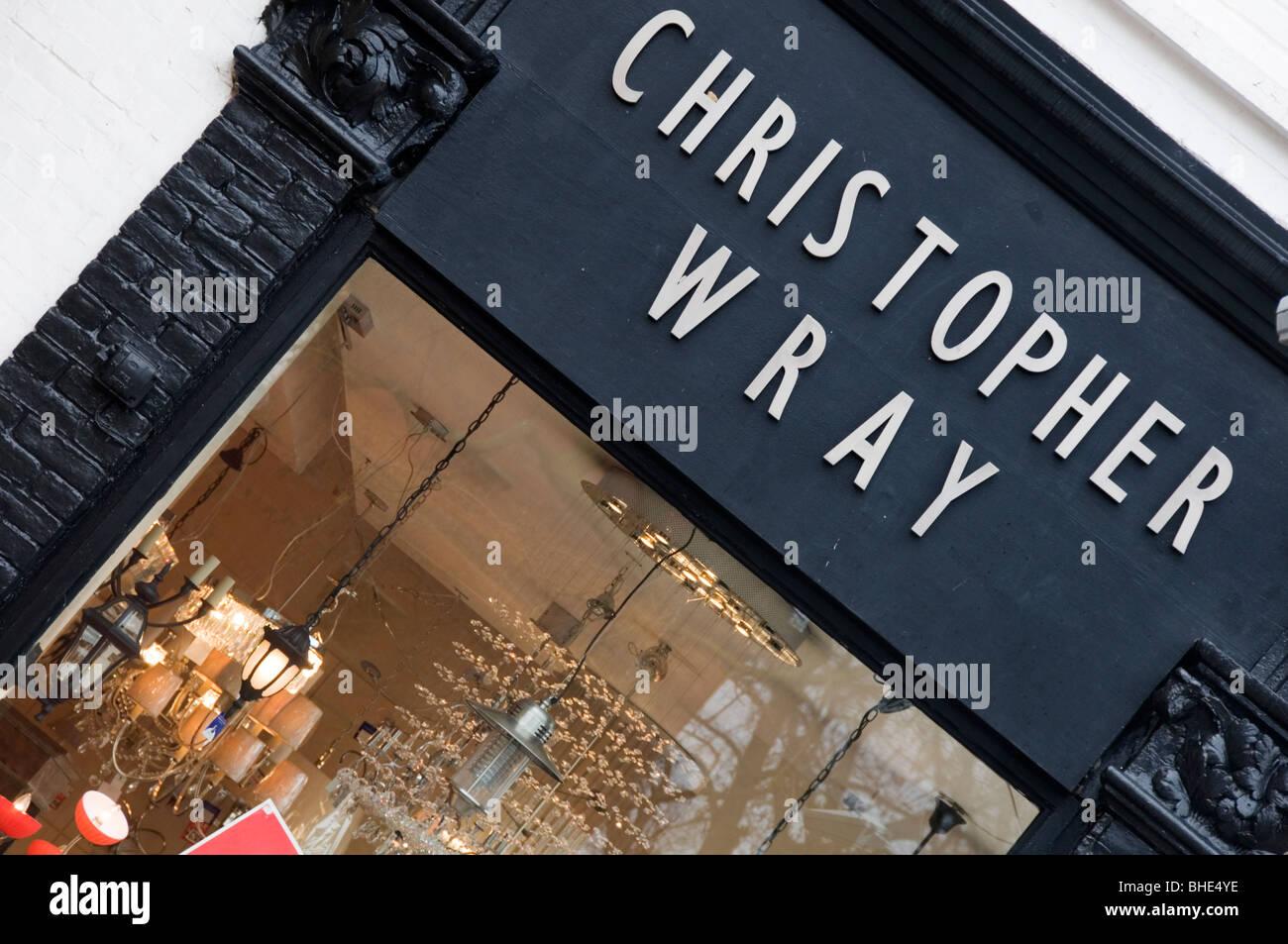 christopher wray lighting shop stock photo 27970754 alamy