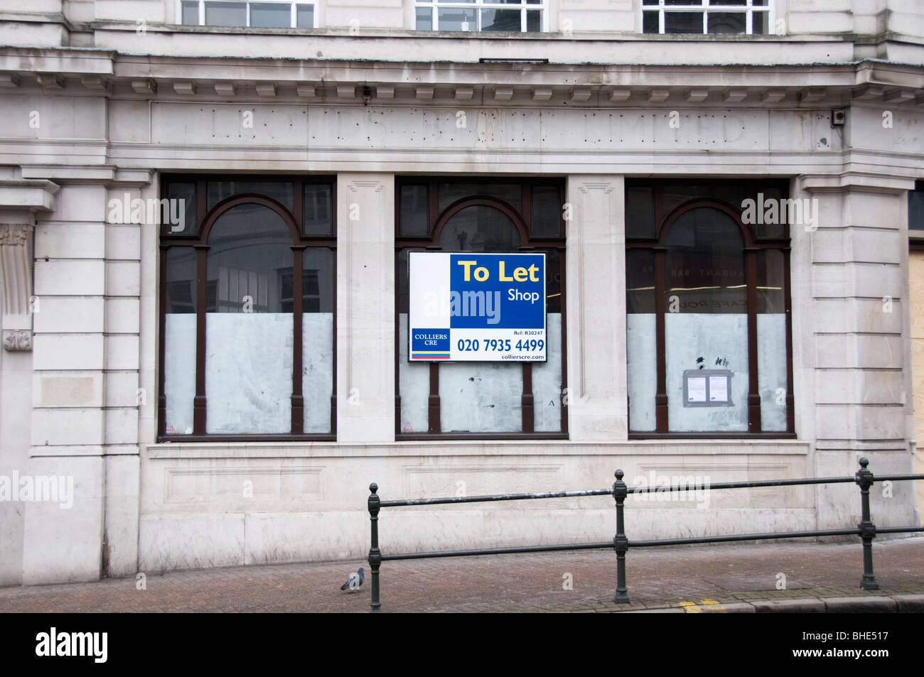 A closed Lloyd's Bank, Bromley, South London, England - Stock Image