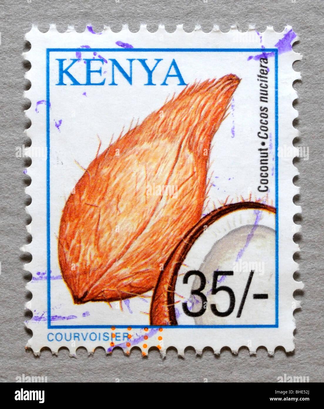 Kenya Postage Stamp. - Stock Image