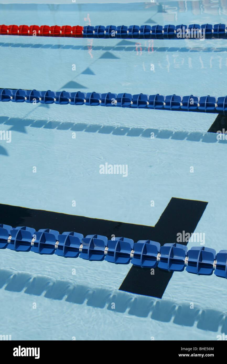Swimming Pool Lane Divider Float Stock Photos Swimming Pool Lane Divider Float Stock Images